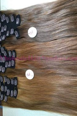 Brown-Color-Straight-Clip-in-Hair