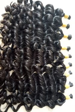 Bulk deep wavy 24 double drawn