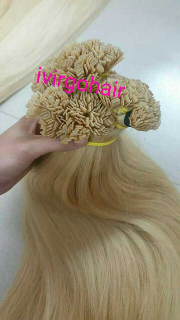 Color Blonde Straight Flat tips