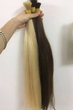 Color Single Drawn Hair