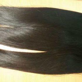 Vietnamese human hair natural straight single drawn hair 24 inches