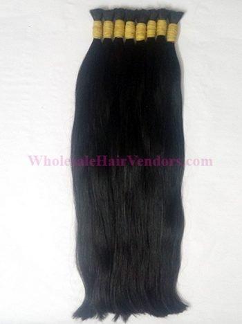 Vietnamese straight single drawn hair 18 inches