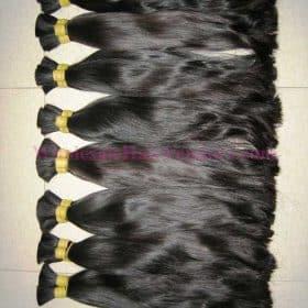 Vietnamese straight double drawn hair