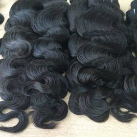 Vietnamese wholesale product double drawn weft body wavy