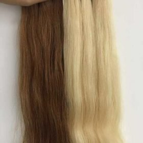 Color straight vietnamese hair color