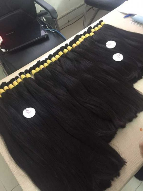 Straight euro double drawn hair 20 inhes and 24 inches