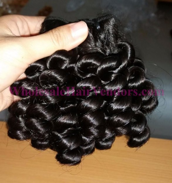 12 inches curly weave