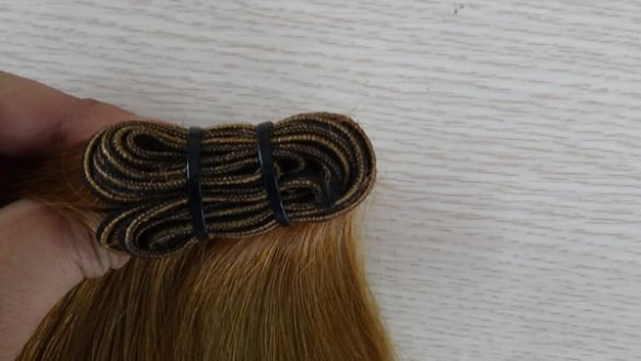 single weft hair extensions