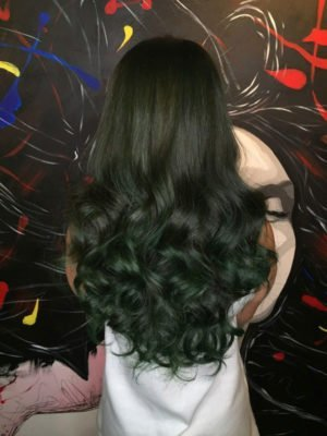 Question In Dyeing How To Dye Blonde Hair Black Without