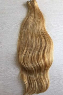 #16 Straight weft hair 20 inches