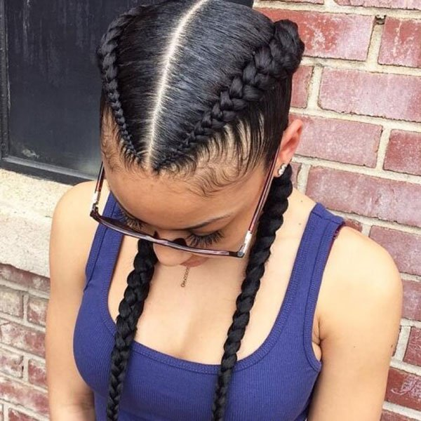 How To Do Under Braids Make You Become A Fabulous Girl