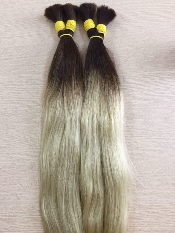 Ombre (#8+#60) 60cm cold shade hair
