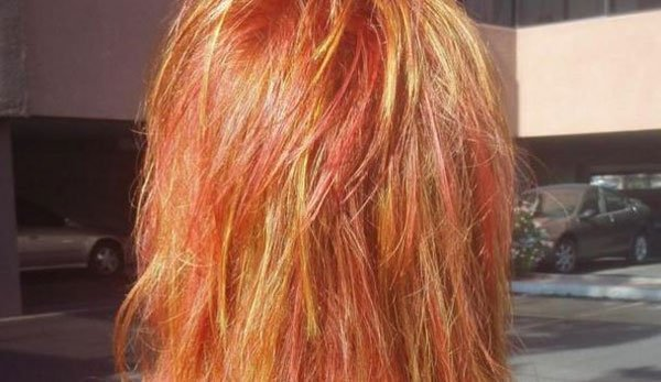 What color covers orange hair: How to fix orange hair color