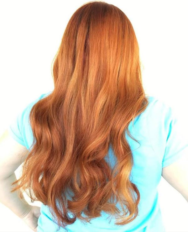 Finding the best burnt orange hair color african american ...