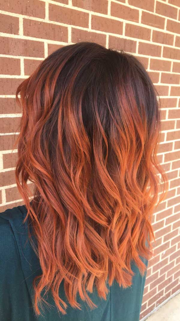 Finding The Best Burnt Orange Hair Color African American For Black
