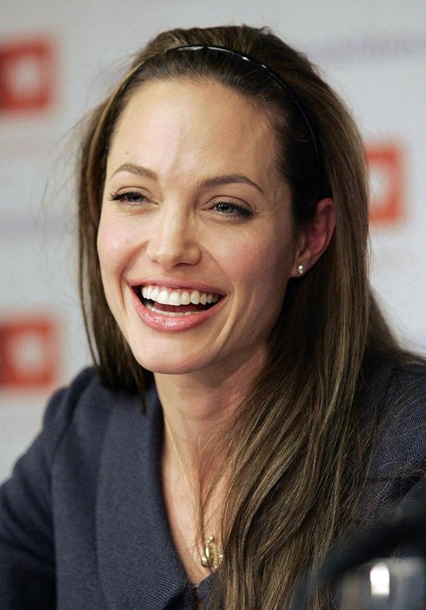 Angelina Jolie no makeup