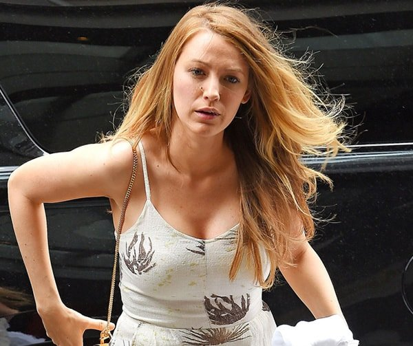 Blake Lively no makeup
