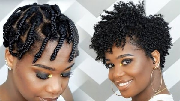 How to make short african american hair curly