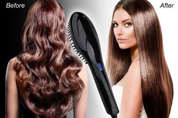 INSTA magic hair straightening brush reviews