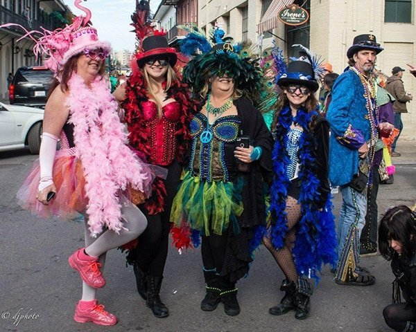 what to wear to Mardi Gras