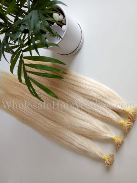 Flat-tip blonde 20-24 inches