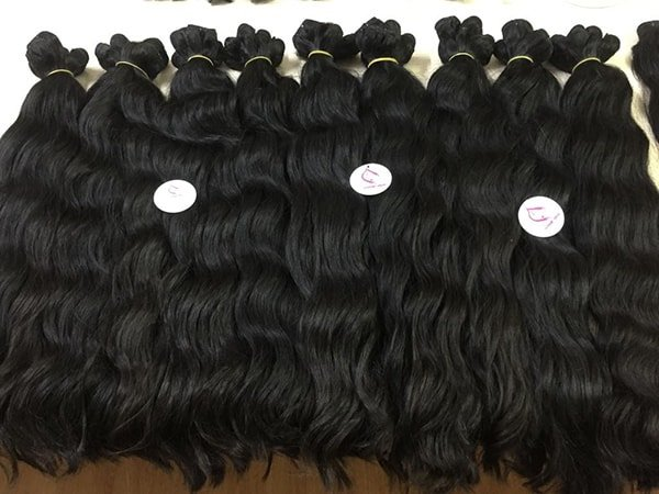 natural wavy weft 26 inches