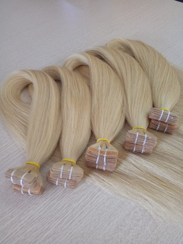 Tape hair 28 blonde