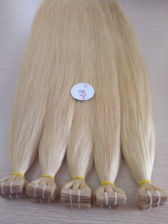 Tape hair 28 blonde