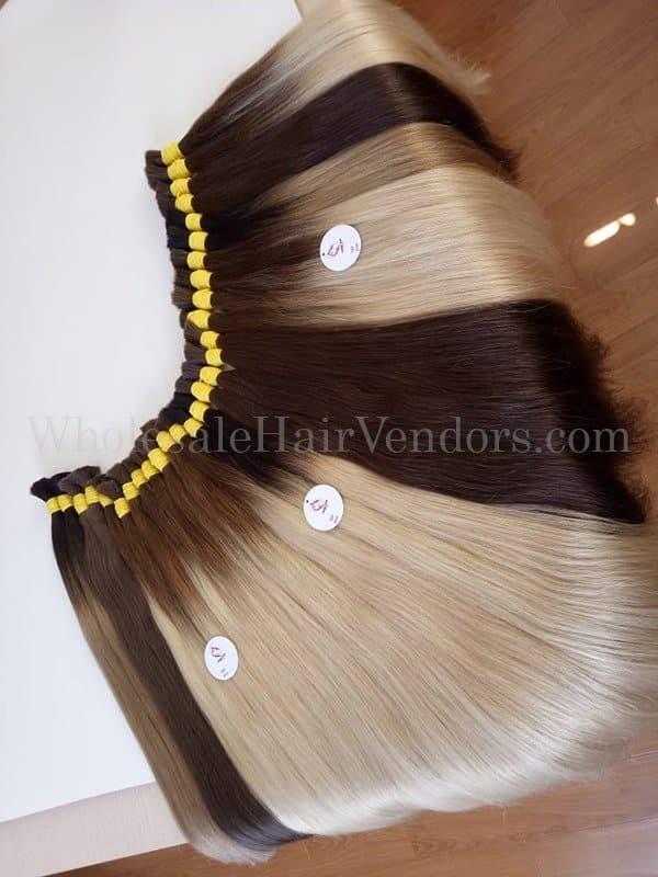 color bulk hair