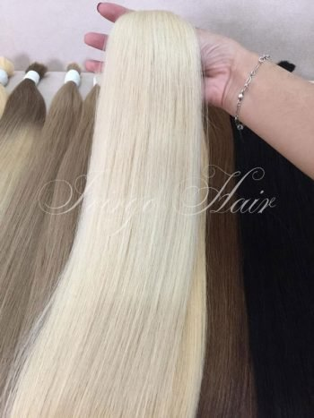 #Pla color straight bulk- vietnamese hair