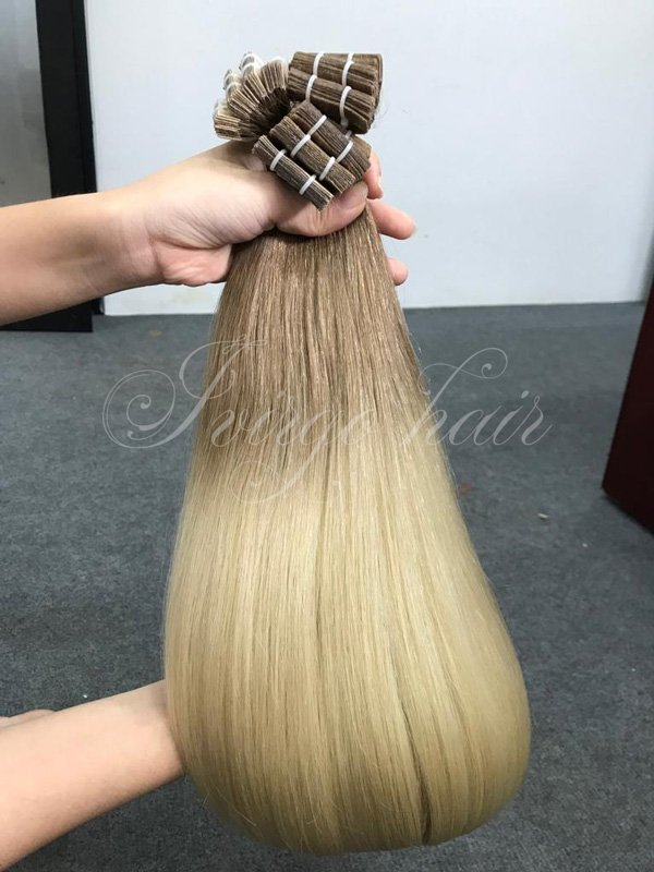 Tape hair- 60cm ombre 8c/60c