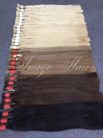 Vietnamese hair color straight bulk 60c, 14c,6c