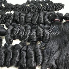 Vietnamese hair- spring curly, bounce curly 16-18 inches