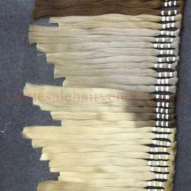 Super double drawn color hair 50 - 60 - 70cm