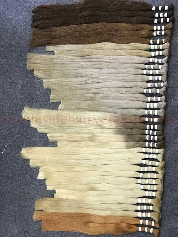 Super double drawn color hair 50 - 60 - 70cm