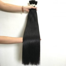 28 inches, Straight bulk,Natural color