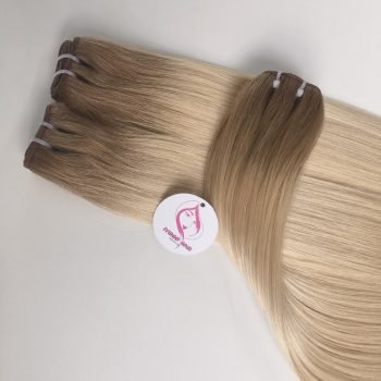 22 INCHES, STRAIGHT WEFT, OMBRE 8C-60C